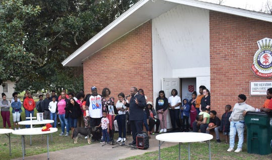 On Wednesday, March 13, 2019, neighbors gathered at The Salvation Army Corps Community Center in Greenwood to remember Jordan Lloyd. Jordan was a part of the church and its youth programs, like their Club 360 and Vacation Bible School.
