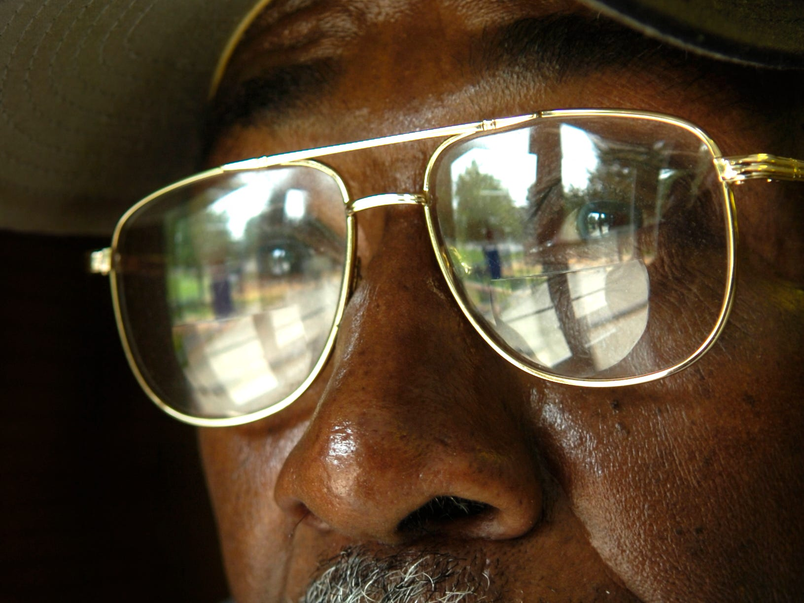 Alfred Williams, a custodian at Clinton Elementary School, is one of the orginal Clinton 12. 8/18/2006