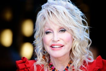 Dolly Parton shares an update on Dollywood's new Wildwood Grove expansion on March 15, 2019.