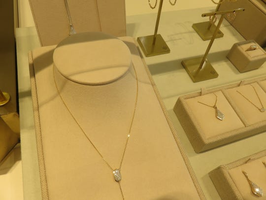 Some of the finer jewelry pieces for sale at Kendra Scott.