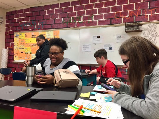 Carencro High School students competed at the district Mock Trial Competition in downtown Lafayette on Feb. 17. They practice every day after school, which includes researching their case and preparing arguments.