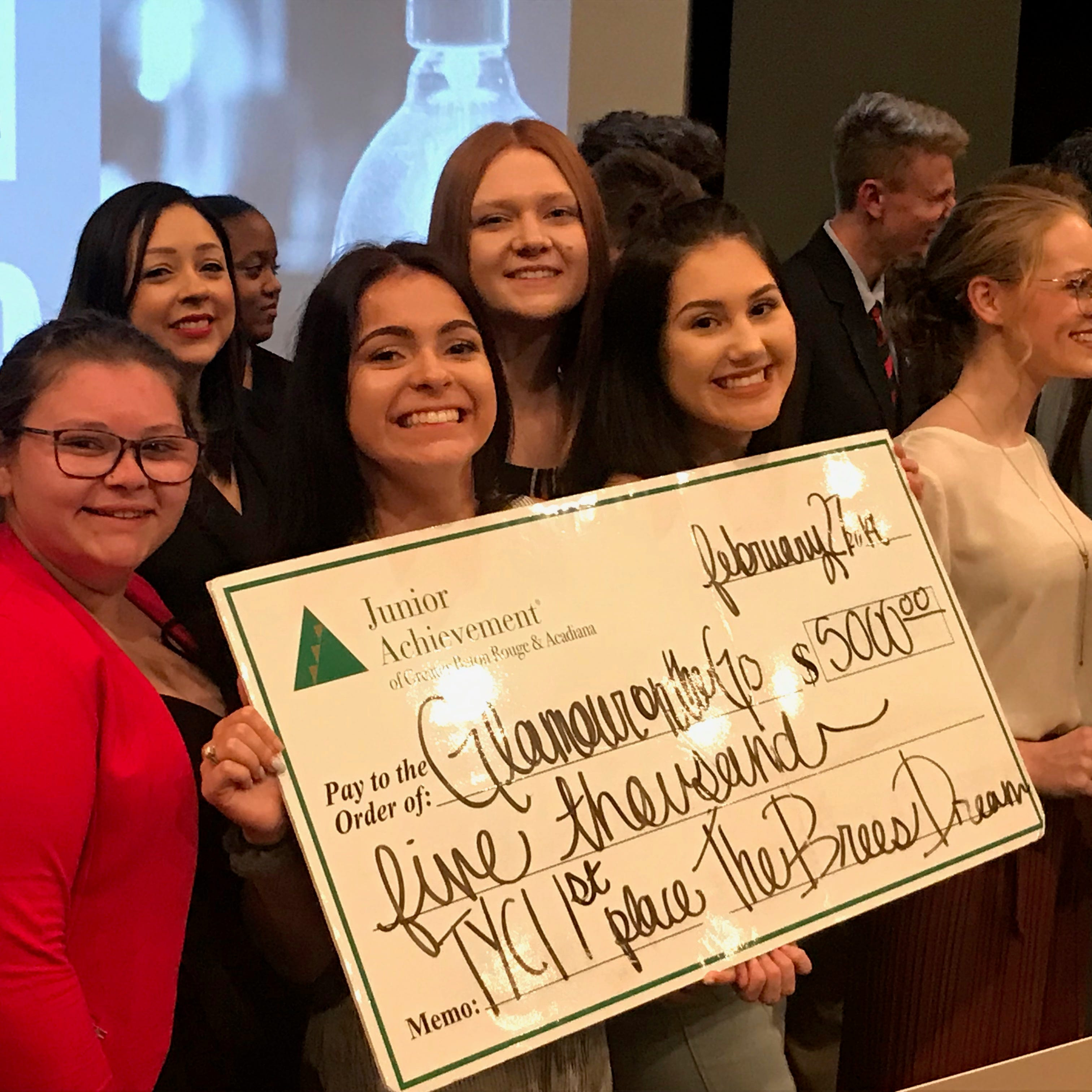 'Crazy idea' earns Acadiana High seniors 1st place, $5K and a spot at state pitch competition