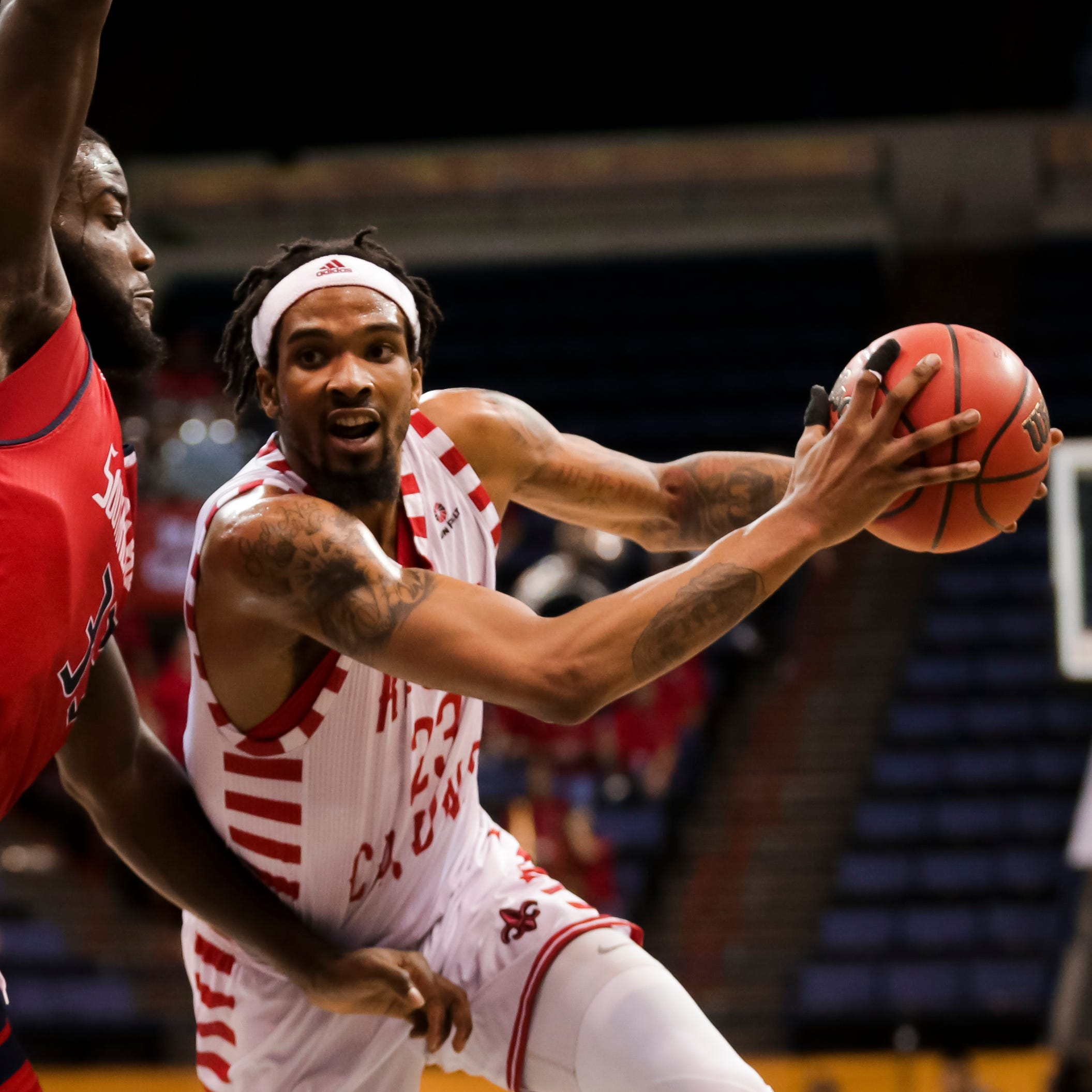 UL forward Gant will get a shot at playing on the next level