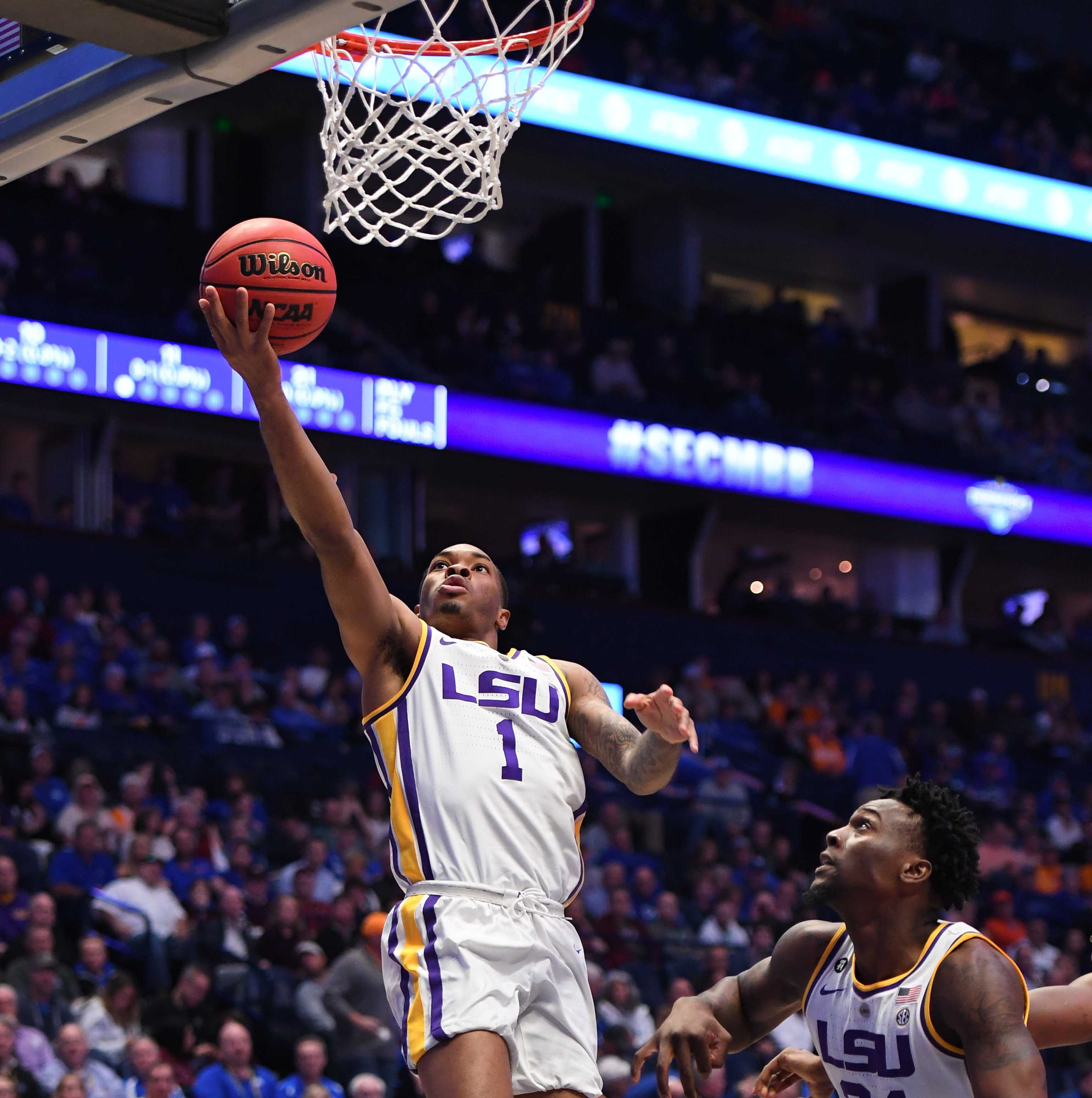 SEC Tournament 2019: How did LSU basketball player Javonte Smart do in his return?