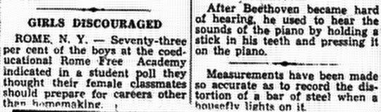 This is from the March 6, 1954 Lancaster Eagle-Gazette.