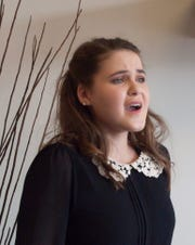 "Rachel Rotay sings her original composition from the musical ""Glockcoma"" entitled ""Epiphany"" Thursday, March 14, 2019."