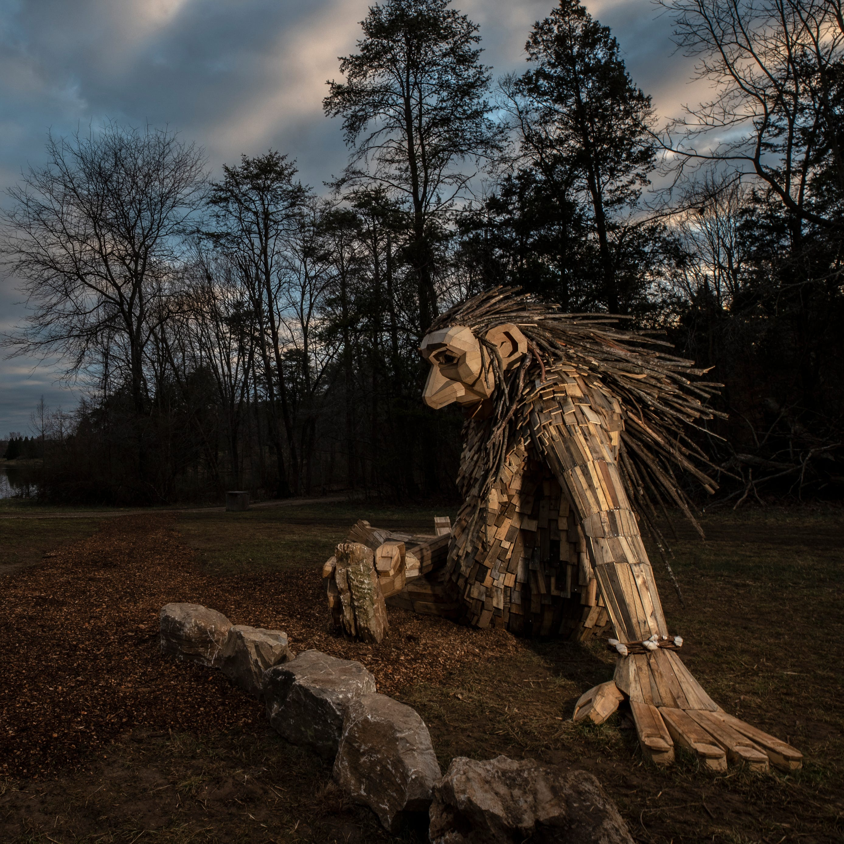 How the magical larger-than-life trolls at Bernheim Forest came to life