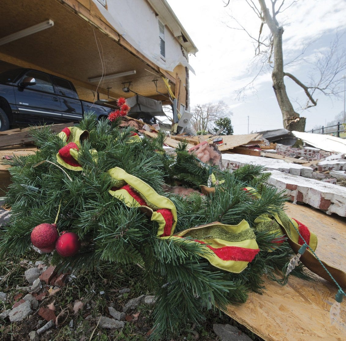 Tornadoes create path of destruction throughout the region, from Paducah to Columbus