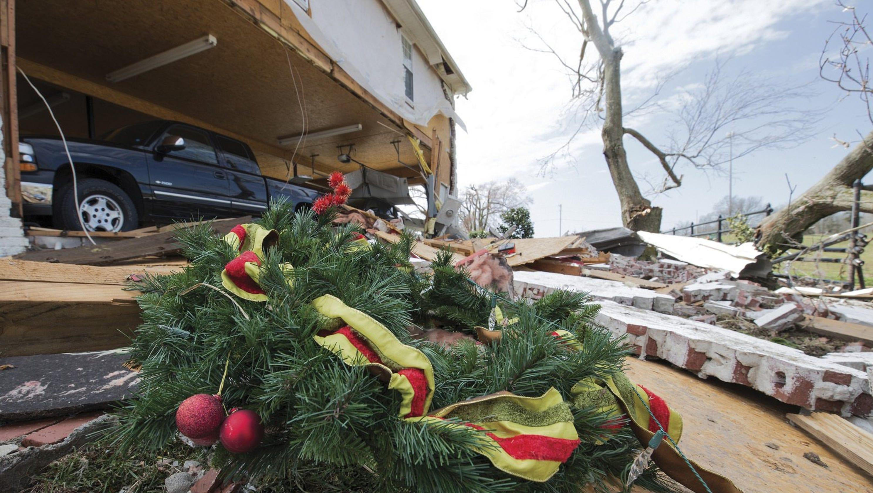 Tornadoes In Kentucky, Indiana Create Destruction Across