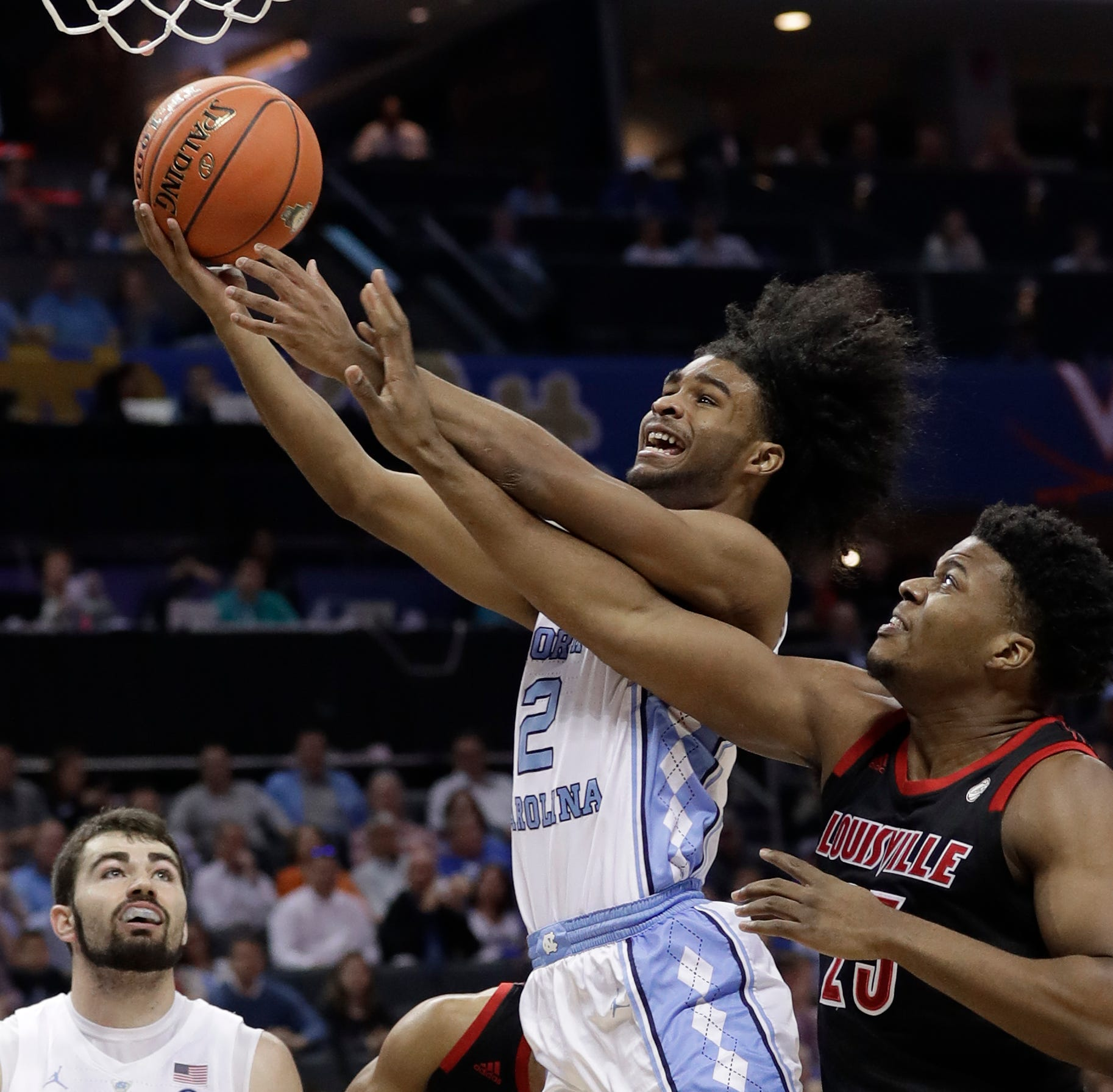 North Carolina's speed leaves Louisville basketball looking flat-footed