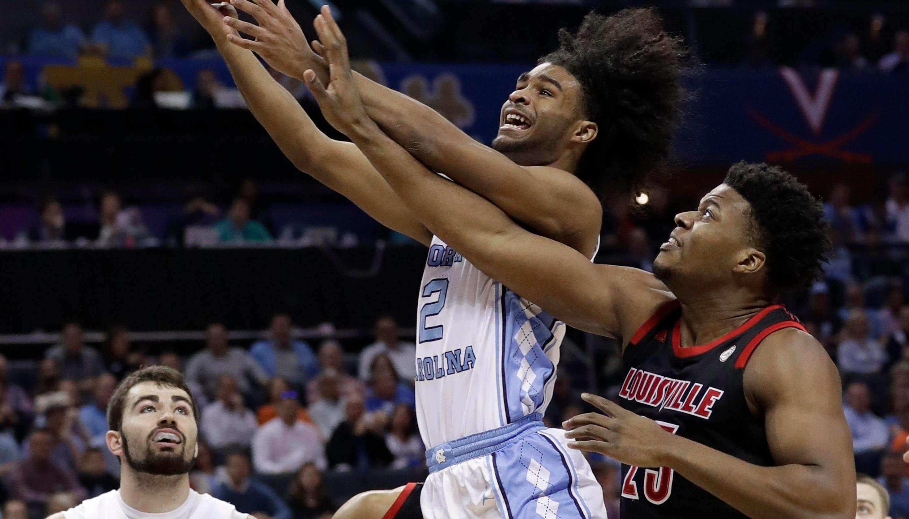 9e7563e23bf1 Louisville basketball looked flat-footed vs. North Carolina