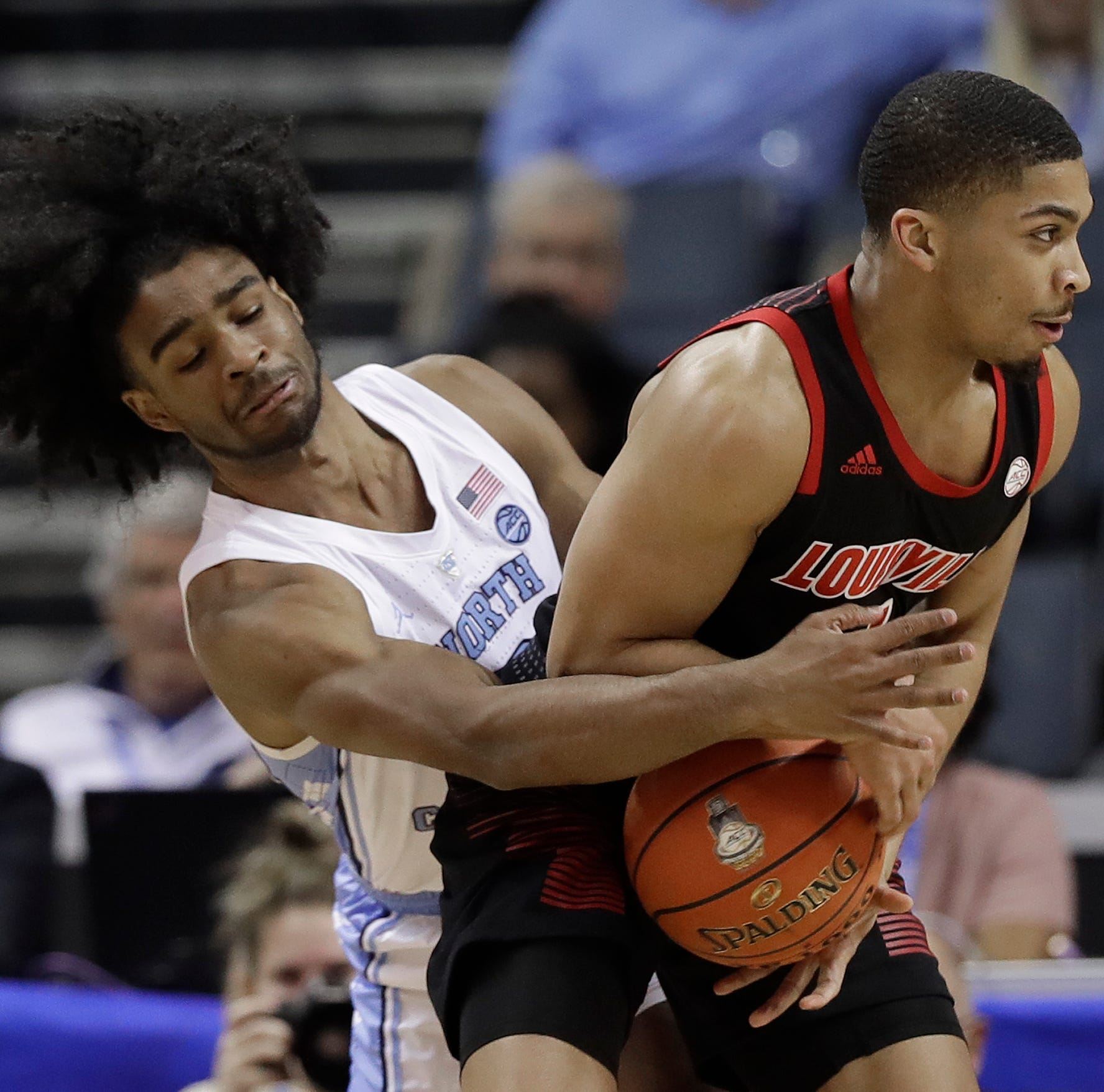 Louisville outrun but not demoralized after loss to North Carolina
