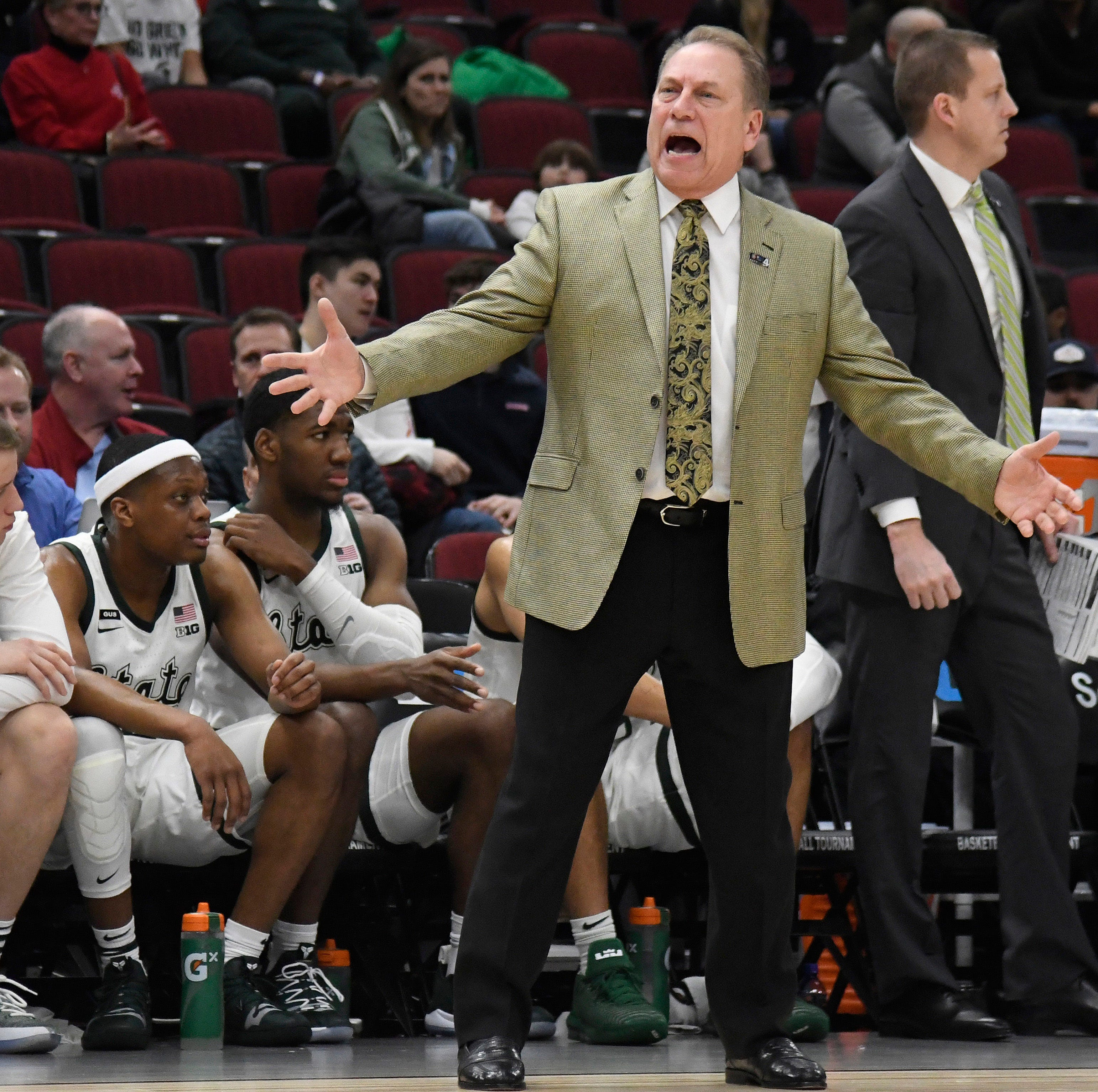 'What is up with Cassius?' Tom Izzo challenges his star. Winston responds.