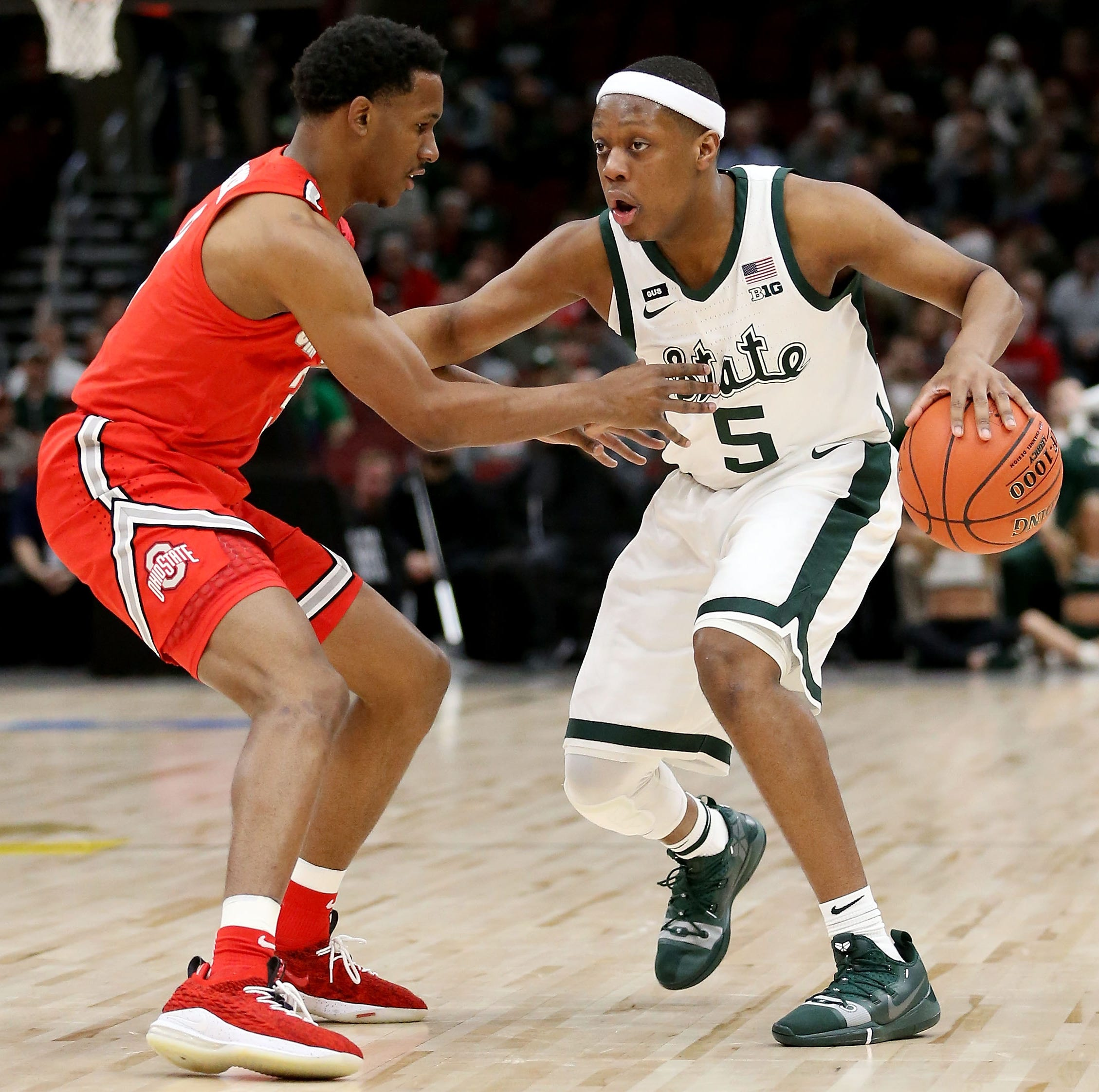 Tom Izzo: Michigan State's Cassius Winston played injured vs. Ohio State