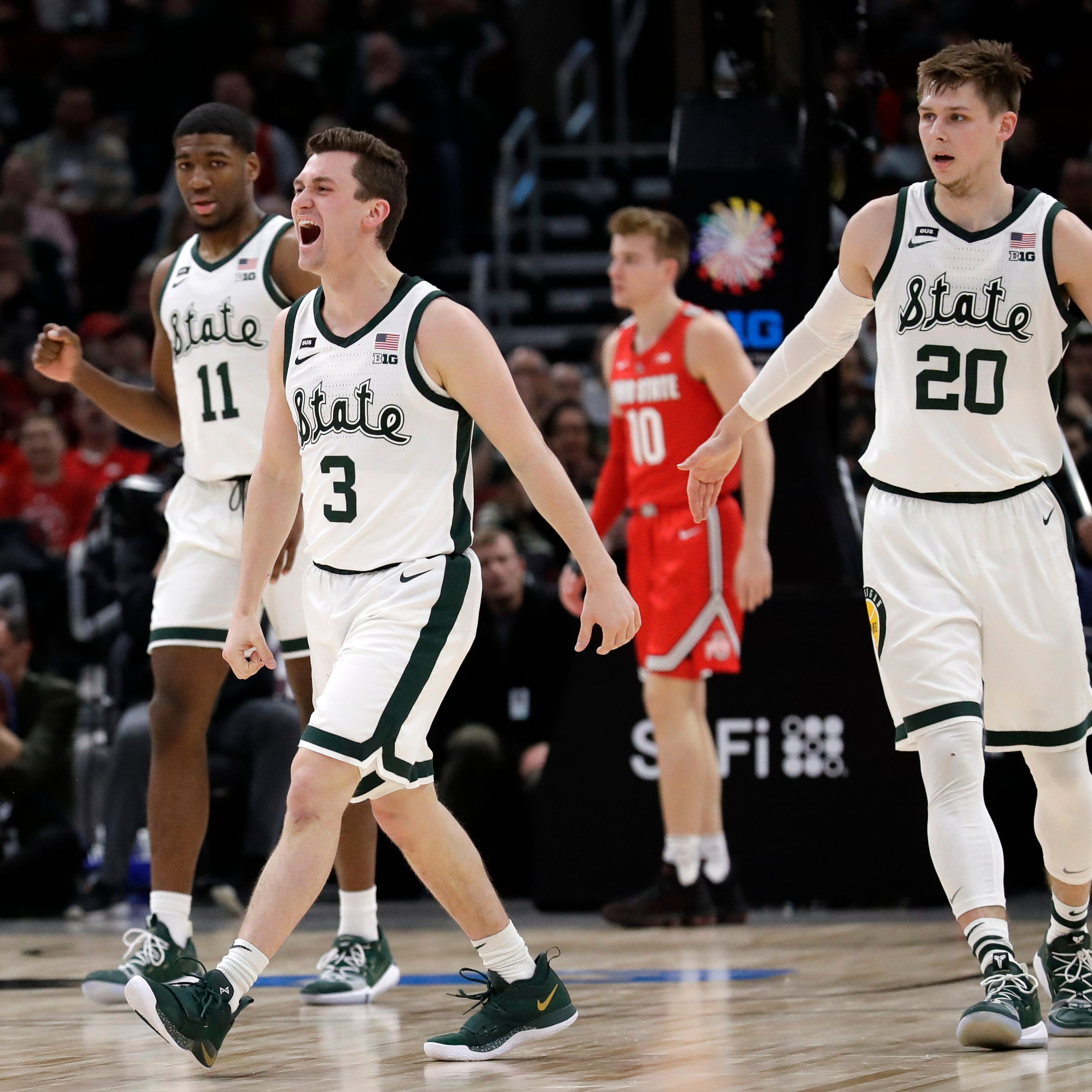 Couch: 3 quick takes on Michigan State's Big Ten tournament win over Ohio State (UPDATED)