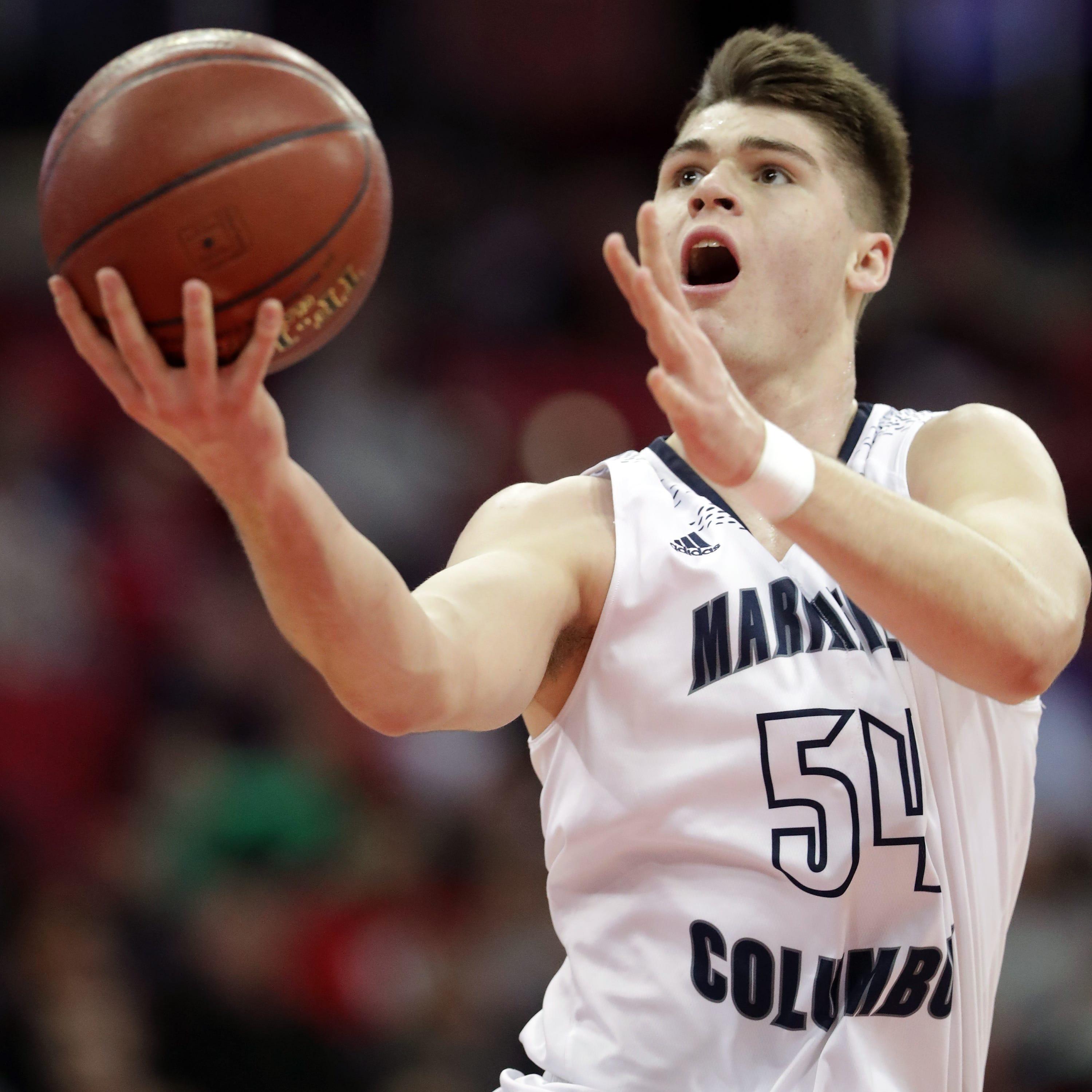 WIAA state basketball: Tom Nystrom's buzzer-beater lifts Columbus Catholic over Bangor