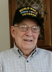 Retired Ashland Schools administrator Joe Denbow, 95, served in the United States Army Air Corps during WWII.