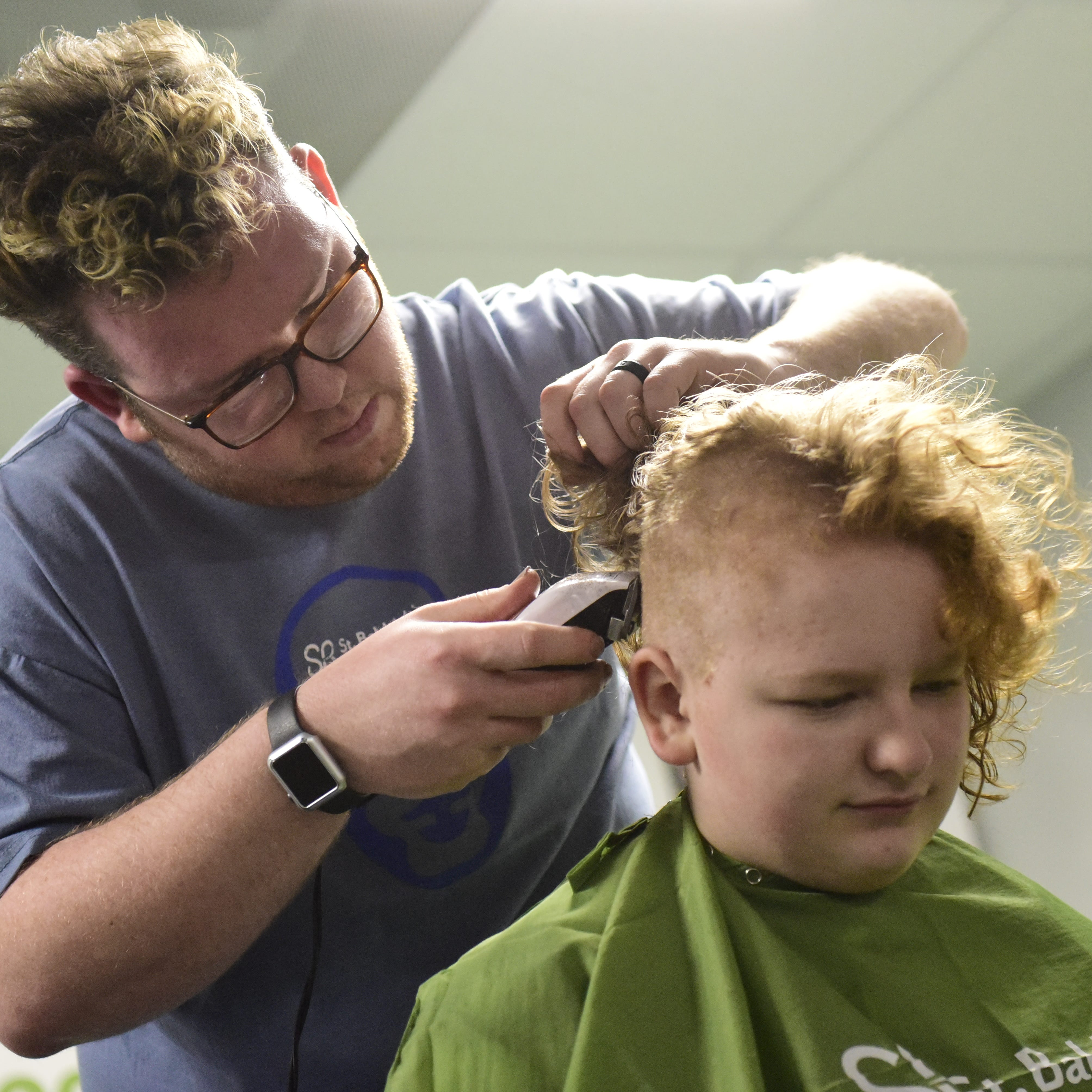 St. Baldrick's shaves hair for kids with cancer