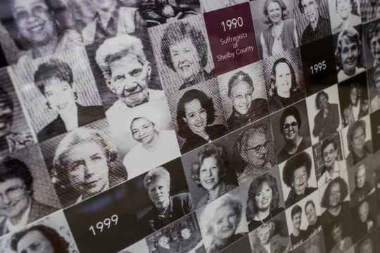 March 15, 2019 - The Women of Achievement exhibit is currently featured in the lobby of the Vasco A. Smith Jr. Shelby County Administration building. Women of Achievement has honored more than 200 women with awards for leadership and trailblazing over 35 years.