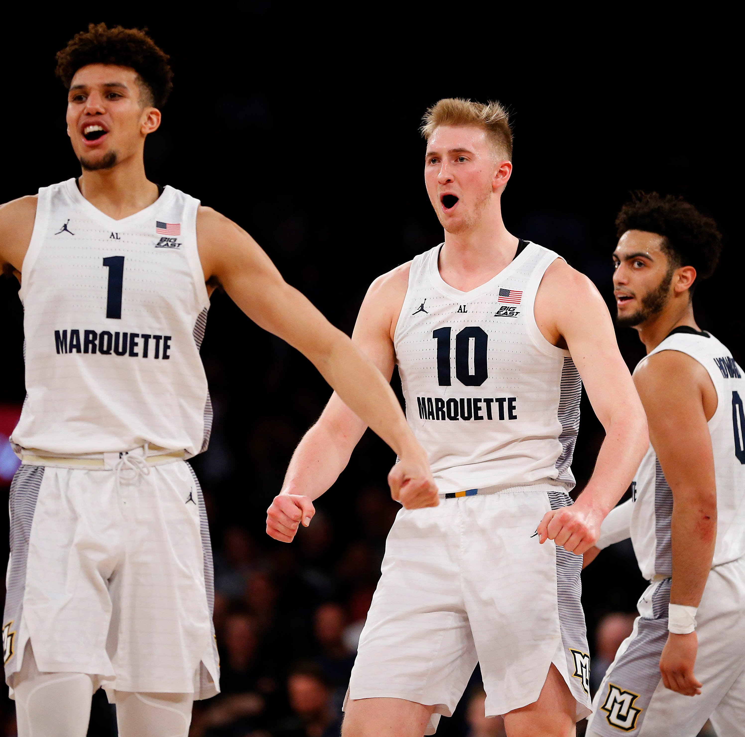 Marquette 86, St. John's 54: Eagles rout Red Storm, advance in Big East tournament
