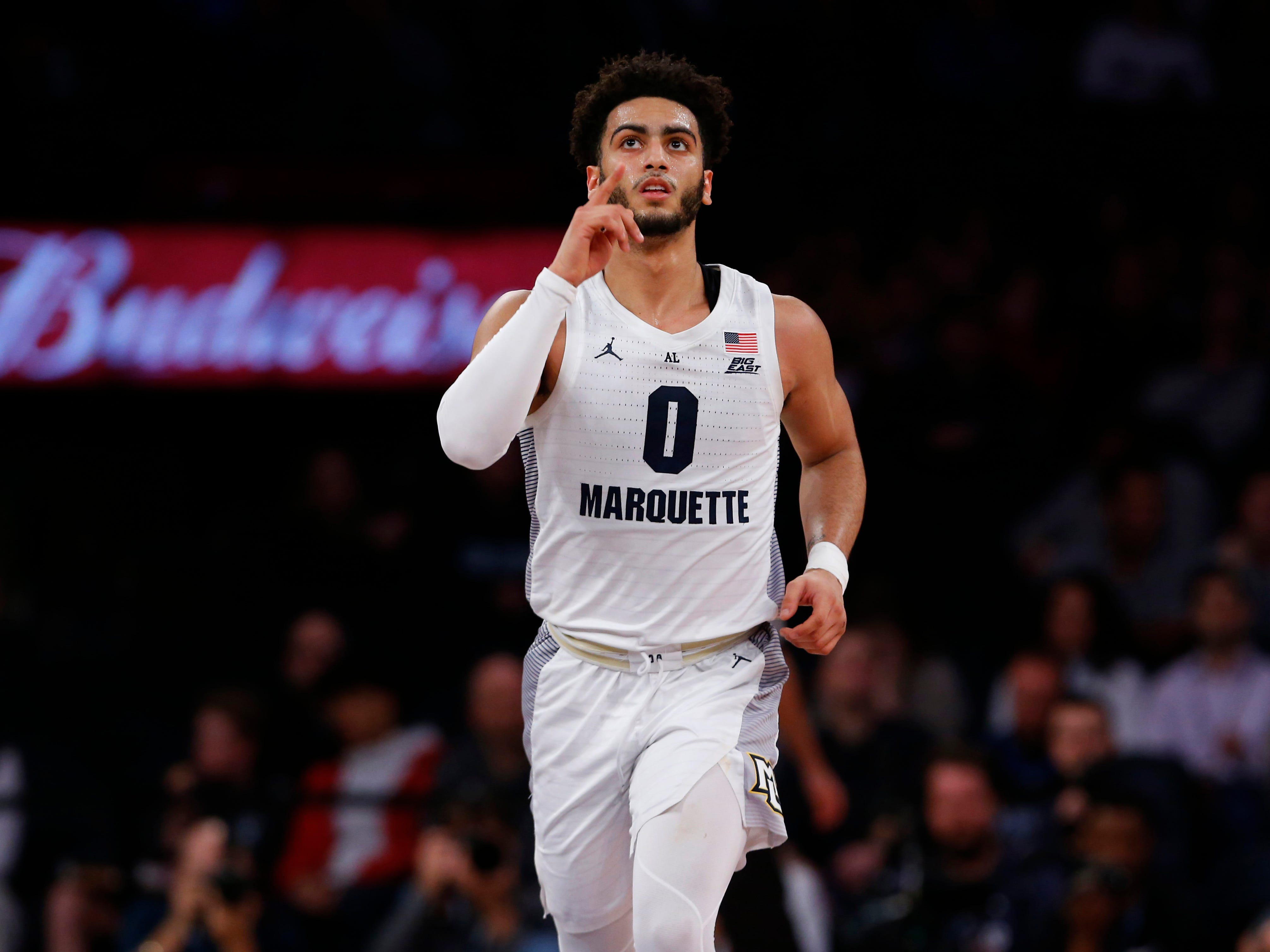 Markus Howard and Marquette cruised past St. John's Thursday night at Madison Square Garden.