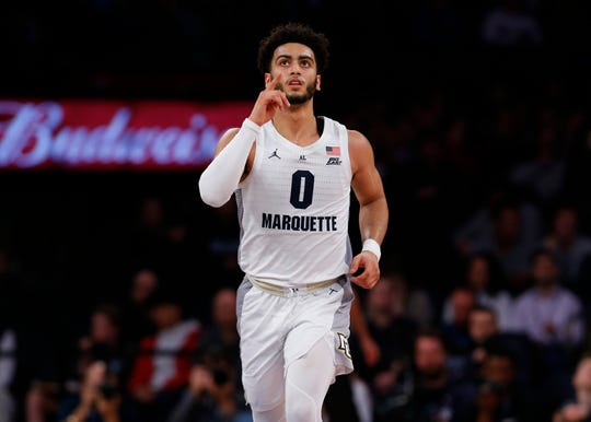 Markus Howard and Marquette cruised past St. John's  a Big East Conference quarterfinal Thursday at Madison Square Garden.