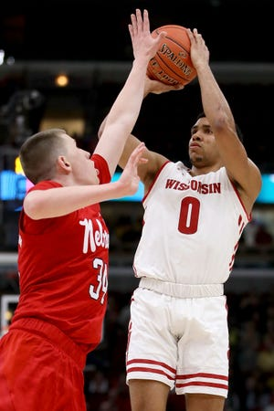 Guard D'Mitrik Trice is Wisconsin's top returning scorer, having averaged 11.6 points a game last season.