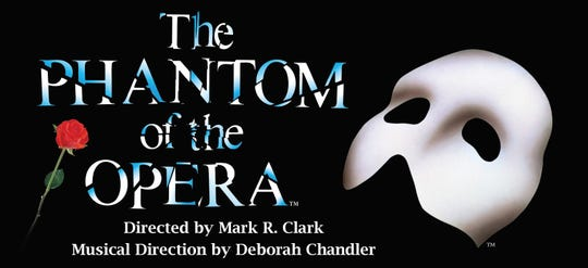 """ULM's School of Visual and Performing Arts will present the """"Phantom of the Opera"""" at 7:30 p.m. March 21- 23 with a 2 p.m. matinee March 24."""