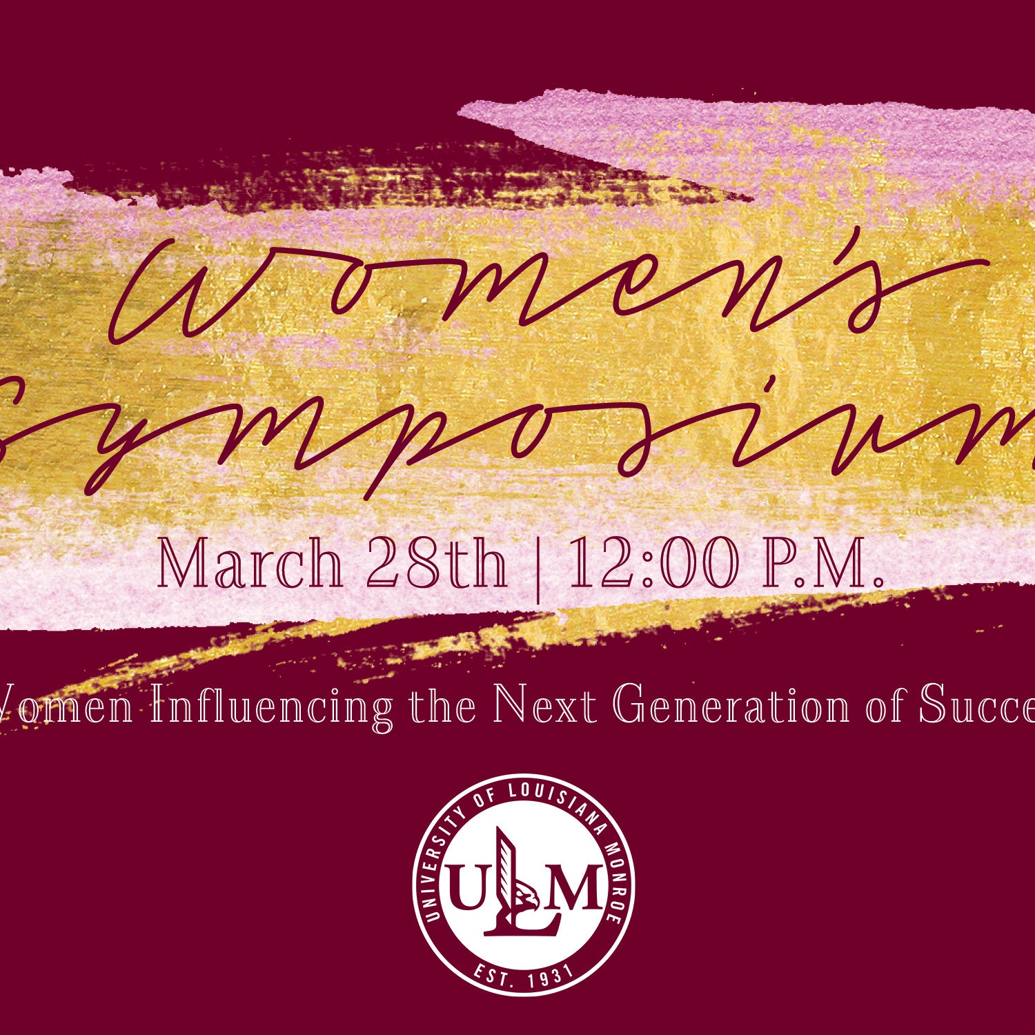 ULM to host Women's Symposium on March 27