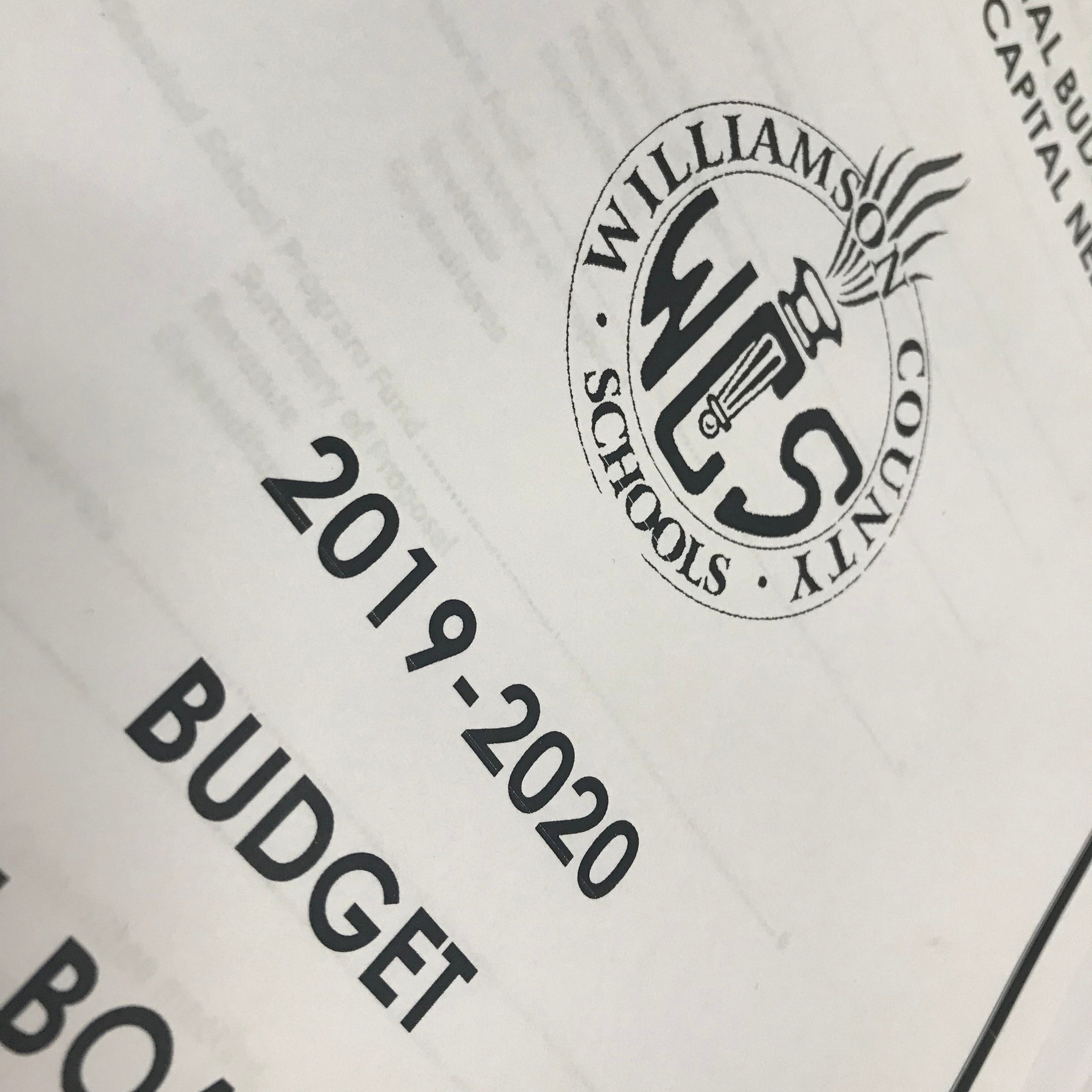 Williamson County Schools leaders unveiled the proposed 2019-20 budget Thursday.