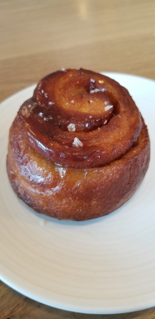 Cinnamon roll from Stay Golden.