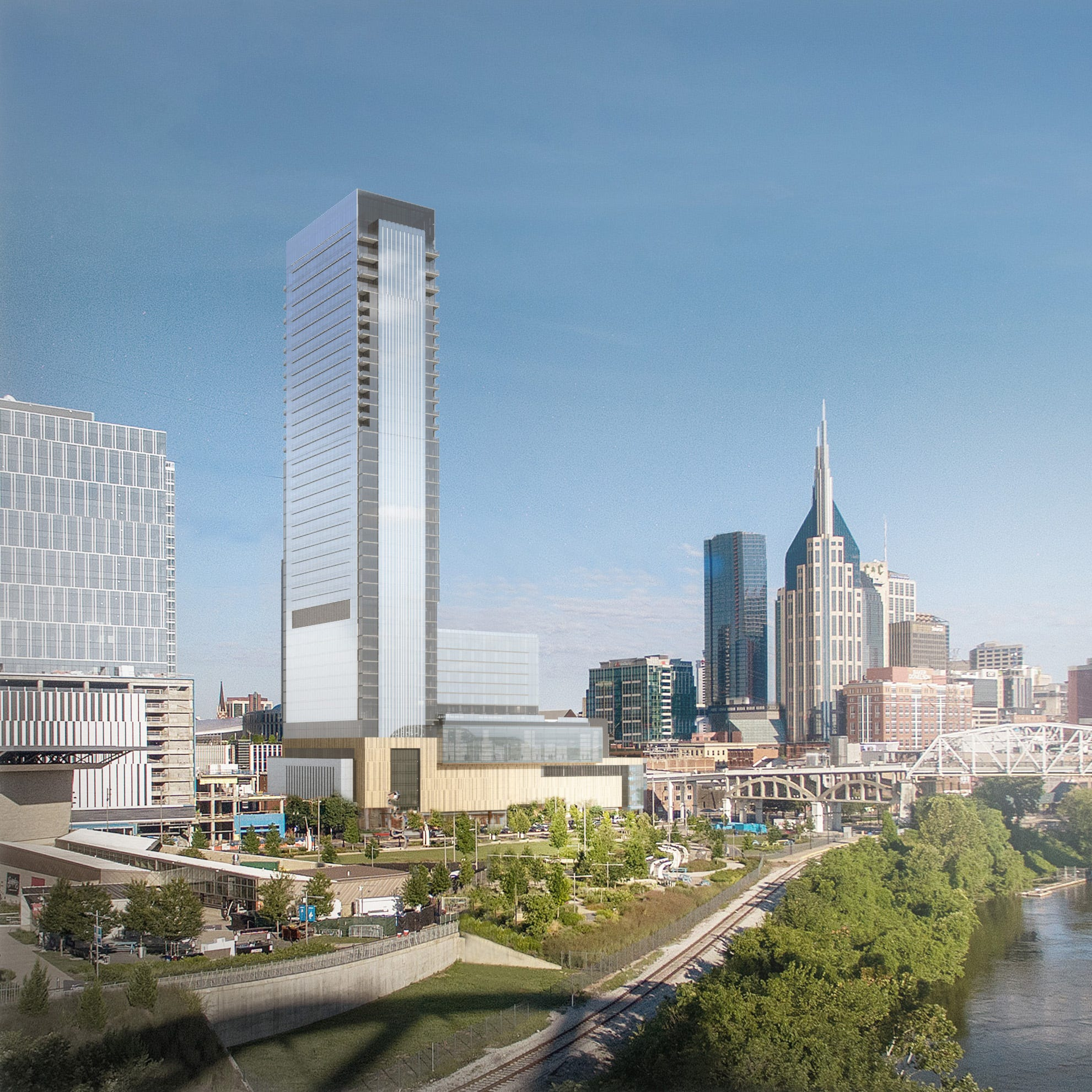 First look: Four Seasons will add 5-star hotel to Nashville skyline