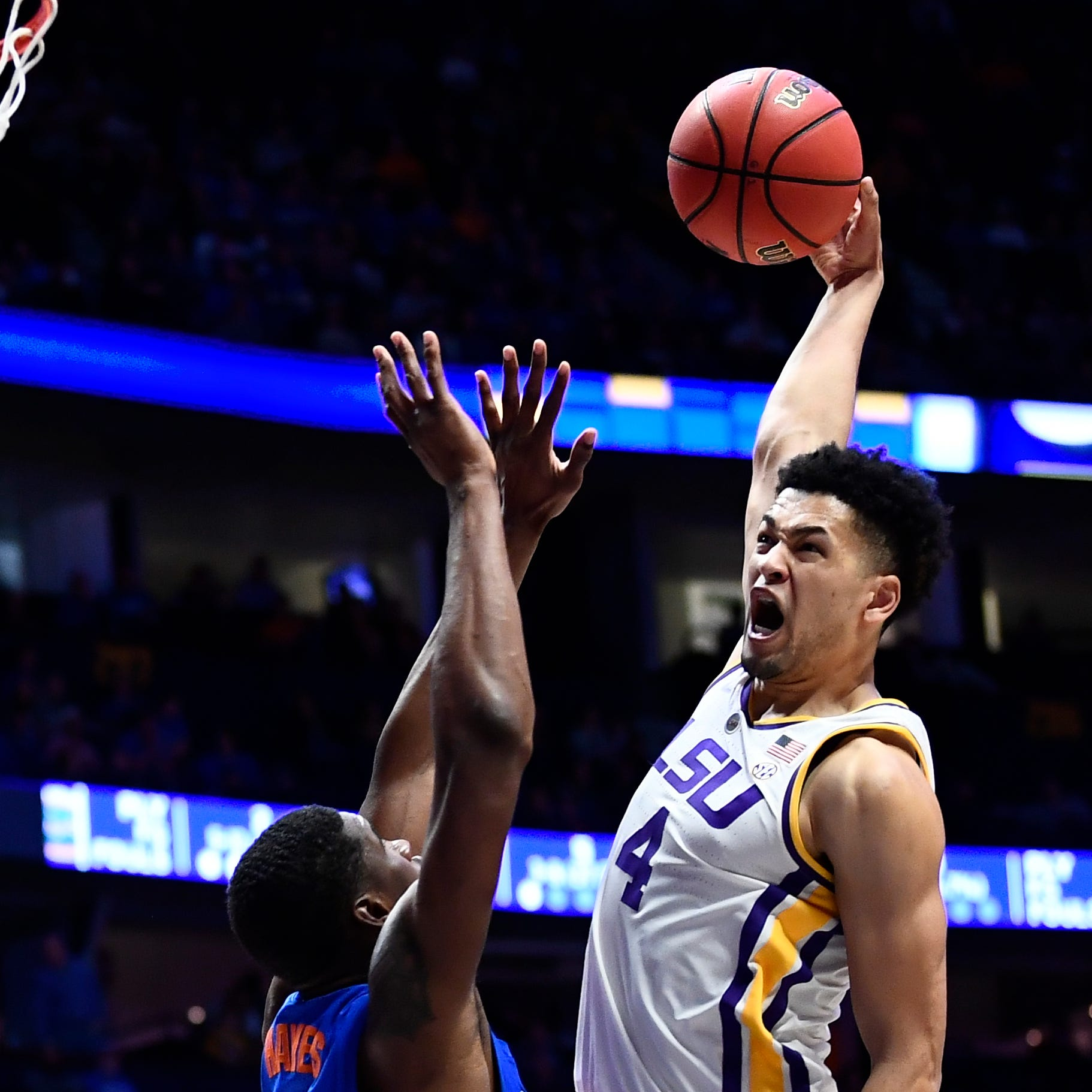 LSU junior guard Skylar Mays will give the NBA Draft a look as well, but he could return