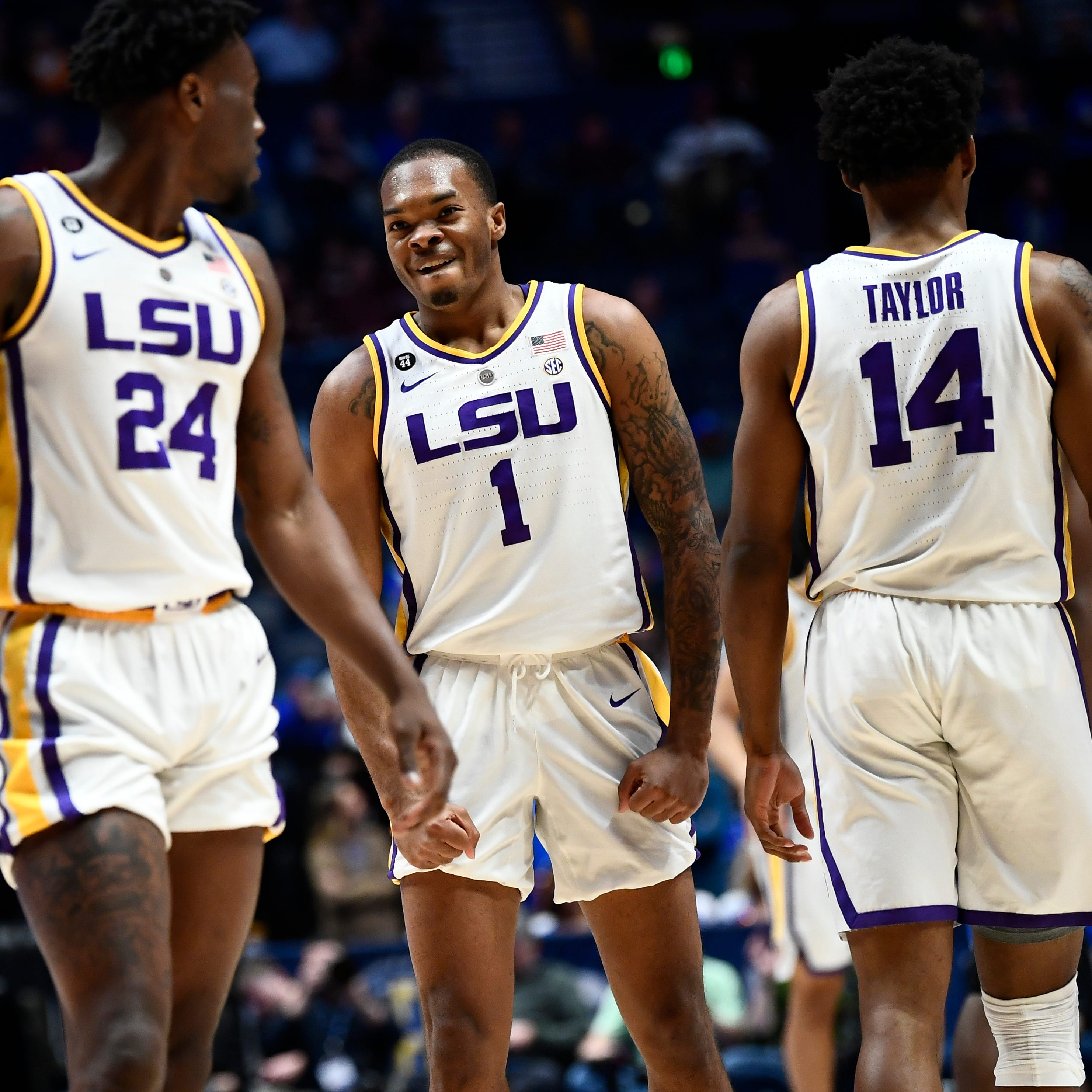 After 1-game all clear last week, LSU's Smart can play through NCAA Tournament, unless ...