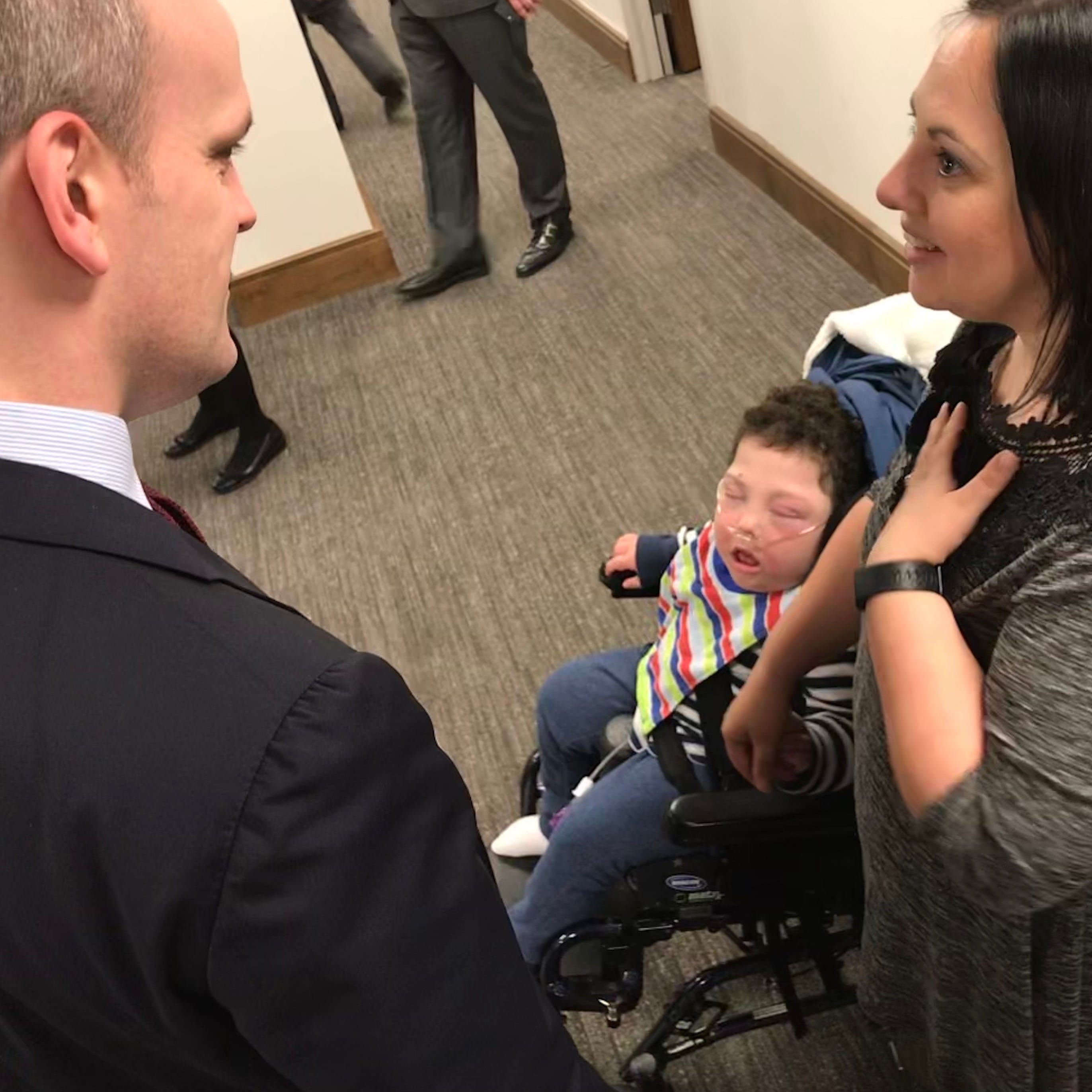 Bill to support children with severe disabilities advances to House Insurance Committee