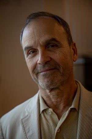 "Scott Turow, author of ""Presumed Innocent"" and and other books, in Naples on March 14, 2019."
