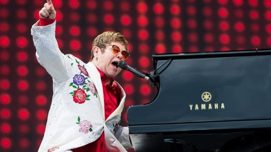 """Elton John played the FedExForum in October2018 as part of his """"Farewell Yellow Brick Road Tour."""" He performed a makeup concert March 18 in Orlando, after the show was canceled Nov. 27, 2018, at the last minute because of an ear infection."""
