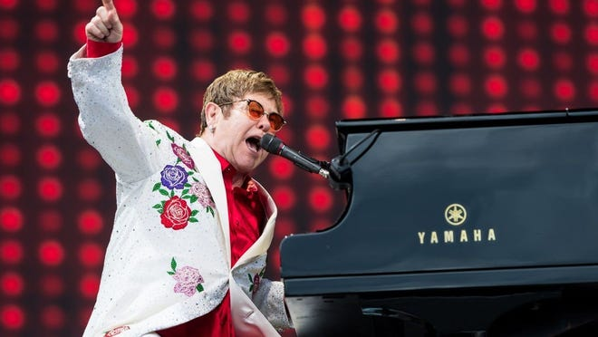 """Elton John played the FedExForum in October as part of his """"Farewell Yellow Brick Road Tour."""" He was set to perform a makeup concert March 18 in Orlando, after the show was canceled in late November 2018 because the musician was ill."""