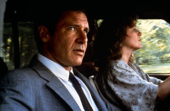 """Scott Turow's first blockbuster novel, """"Presumed Innocent,"""" also became a hit film starring Harrison Ford and Bonnie Bedelia."""