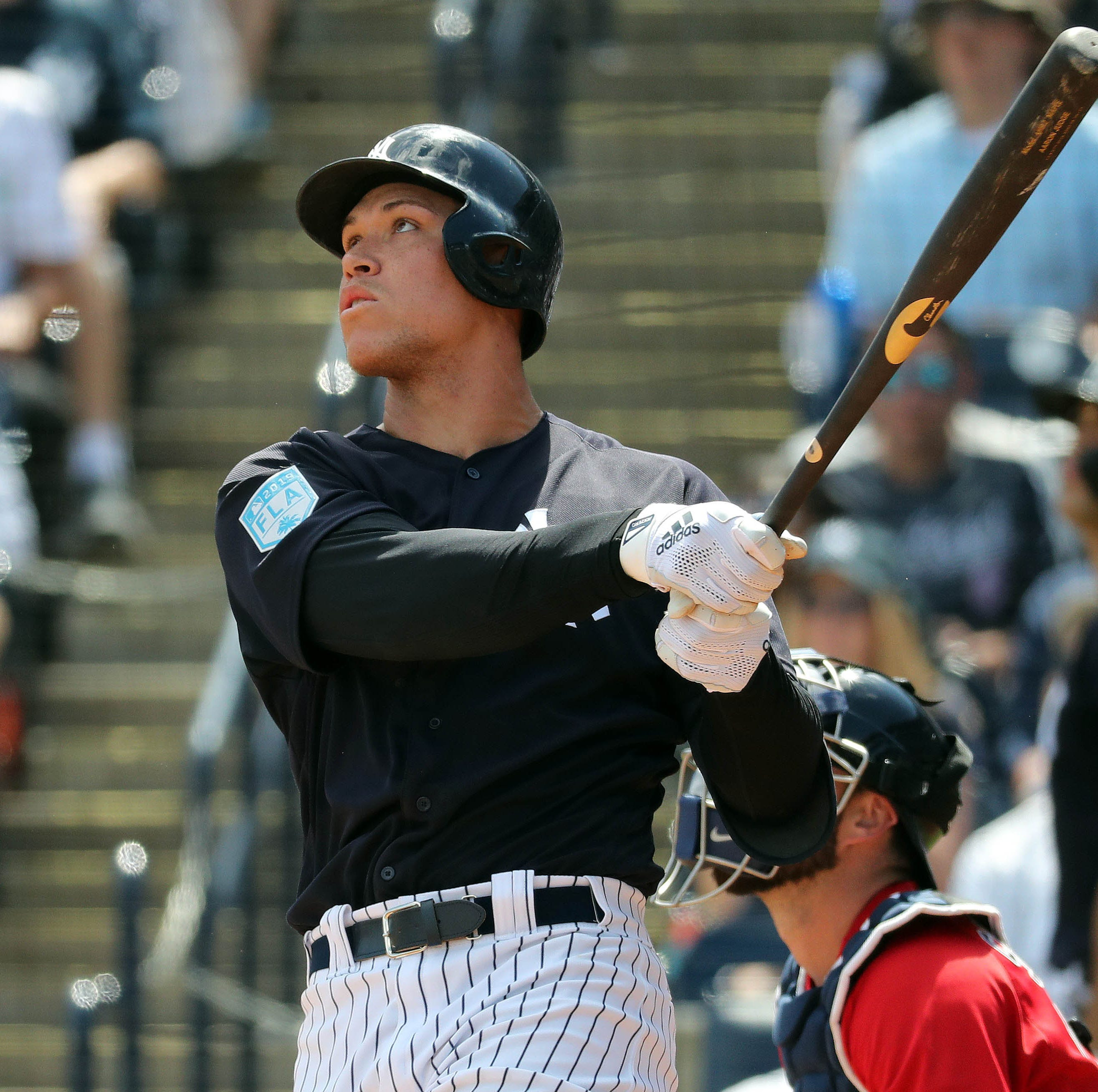 Aaron Judge launches another home run, Yankees trounce Red Sox in spring training