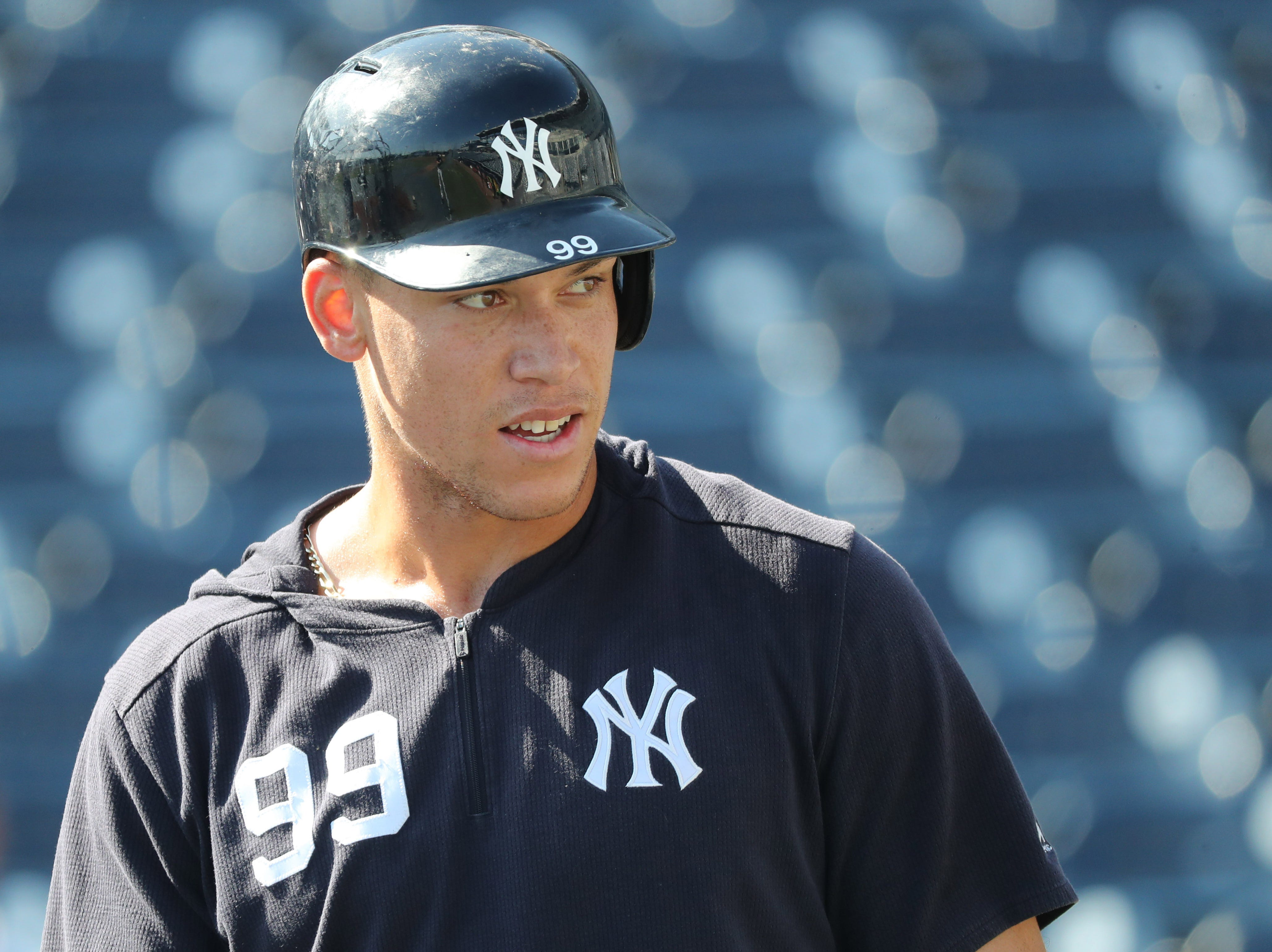 Pondering Aaron Judge's future with Yankees after Mike Trout's record contract