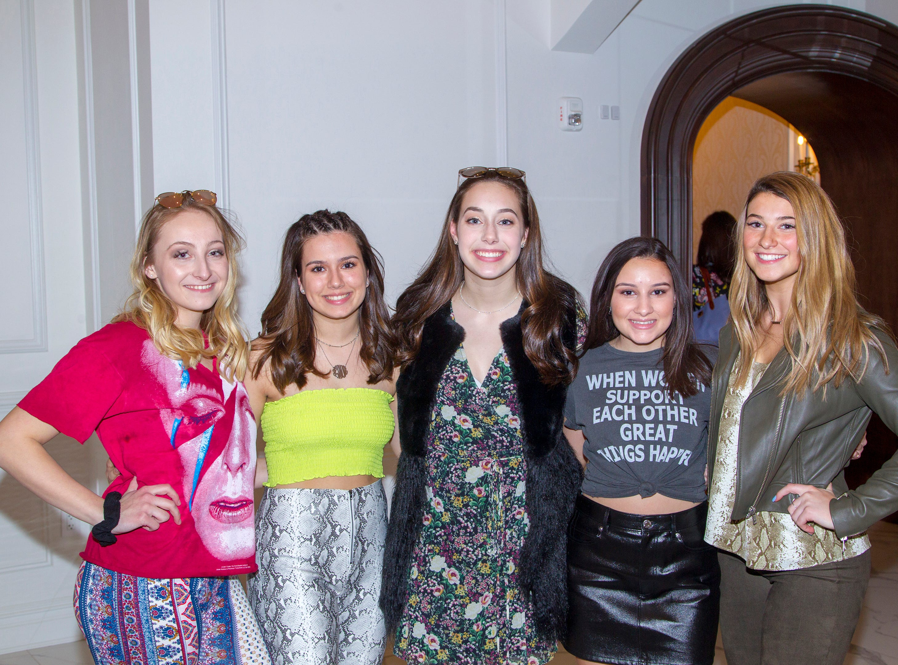 Waldwick High School held its Project Graduation Fashion Show at Macaluso's in Hawthorne. 03/13/2019