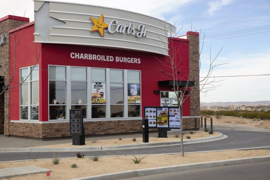 The new Carl's Jr. location at Sonoma Ranch Blvd. and Bataan Memorial Highway  in Las Cruces, seen on March 15, 2019.