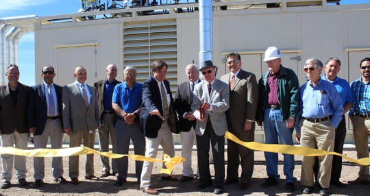 Las Cruces Utilities marked the completion of the Co-Generation Project at the JHWWTF with a ribbon cutting on March 1, 2019.
