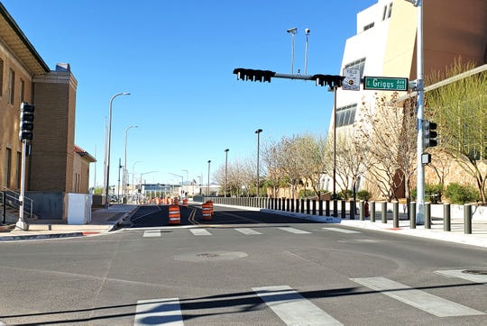The city plans to implement its first step of converting downtown traffic to two-way on March 20, 2019. Griggs Avenue at Church Street is one of the locations of the impending first-step of converting traffic flow.
