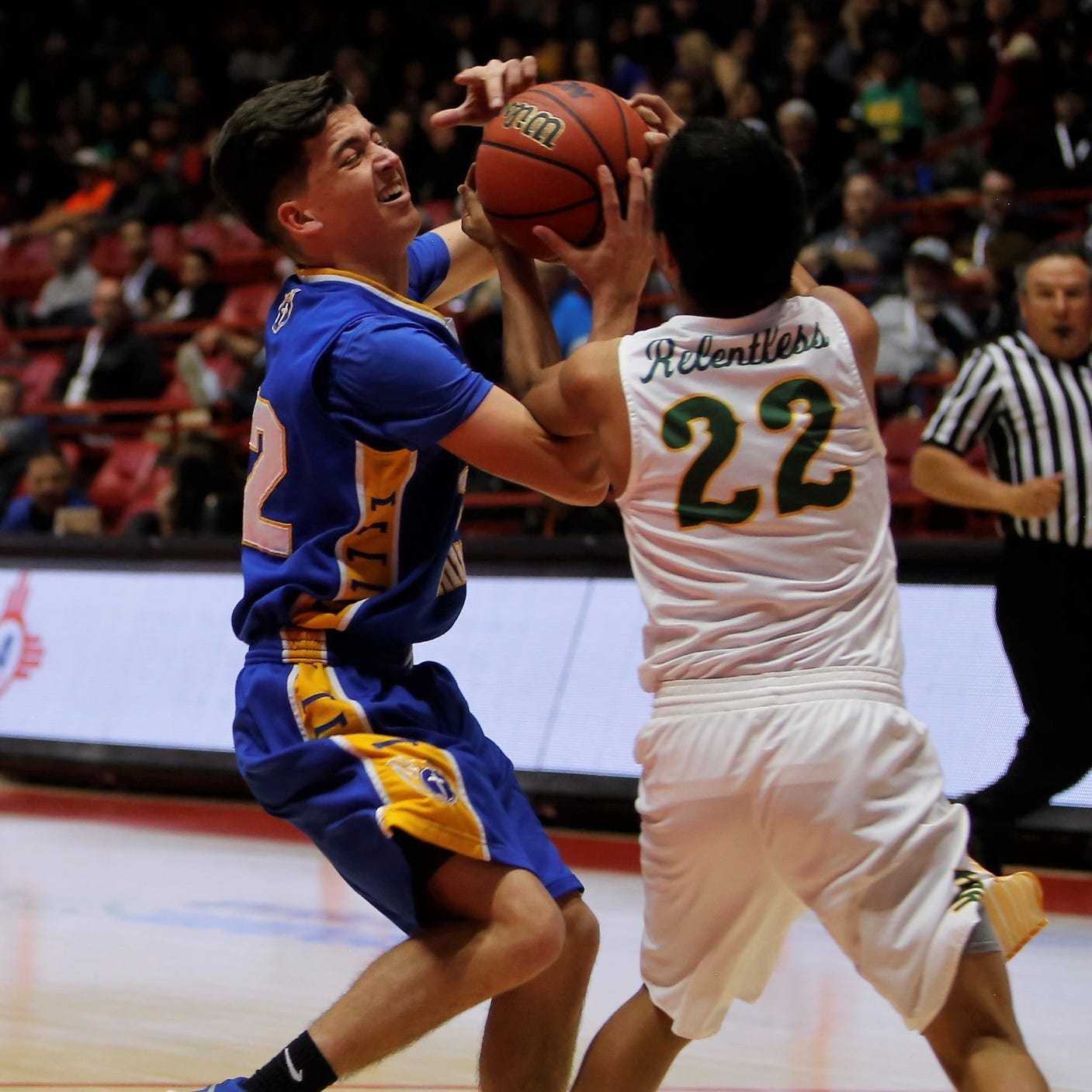 Deondre Begay last-second layup lifts Newcomb into state title game