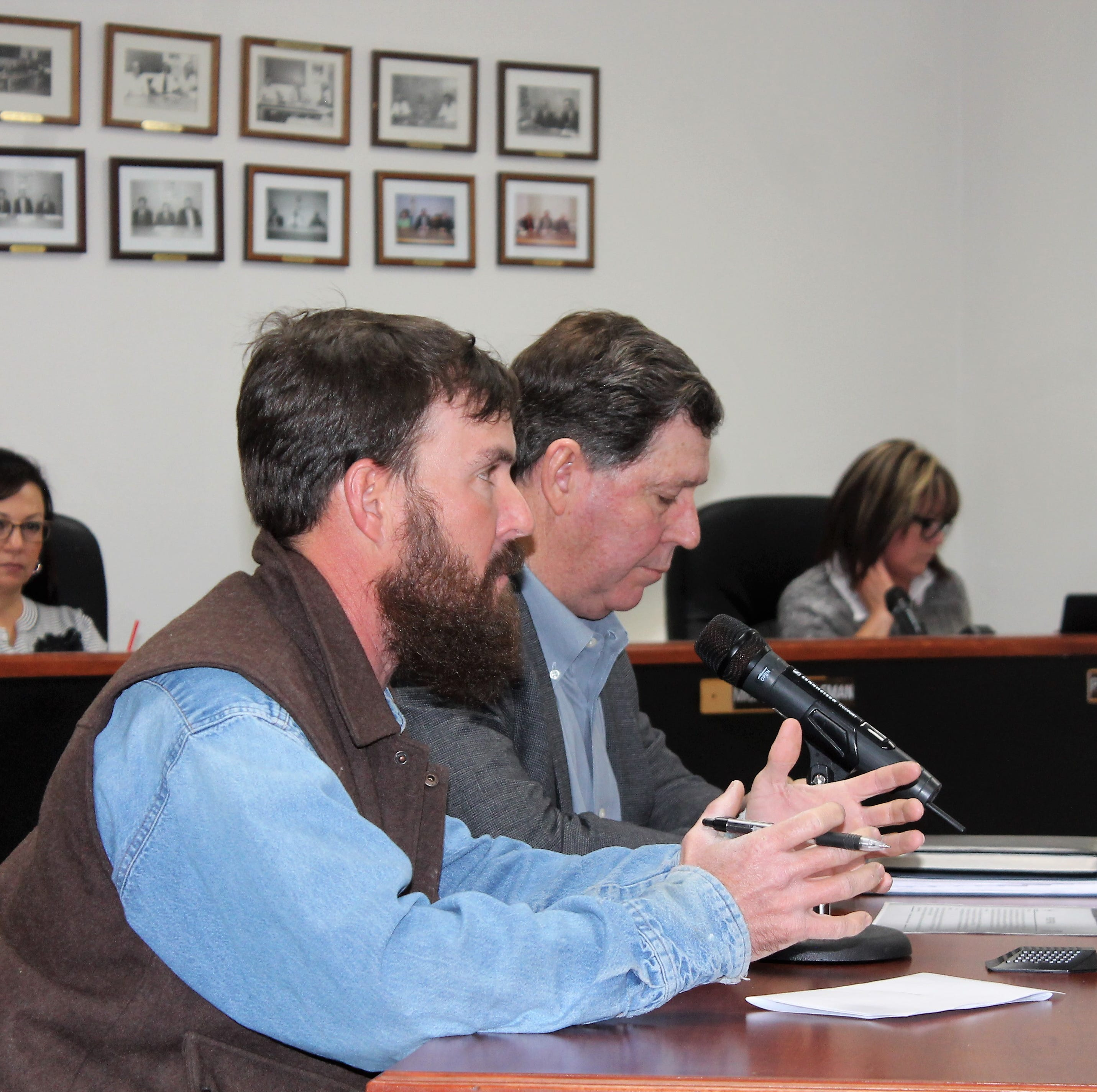 Otero County gets briefing on HAFB water issues, drinking water is fine