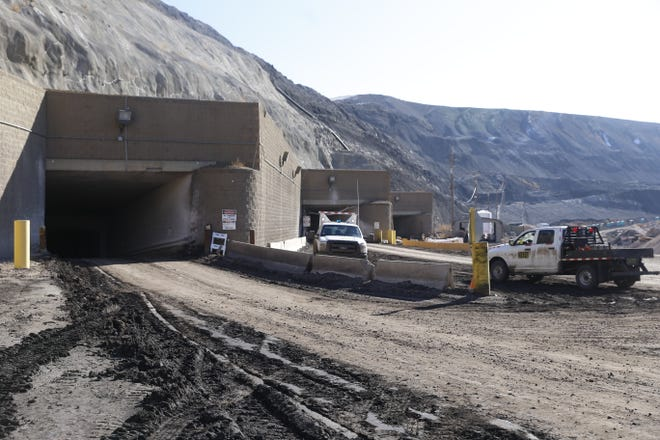 An Office of Surface Mining, Reclamation and Enforcement evaluation says the San Juan Mine in Waterflow,  seen here in a January 2016 file photo, has the capacity to stay open until 2033, regardless of which entity buys its product.