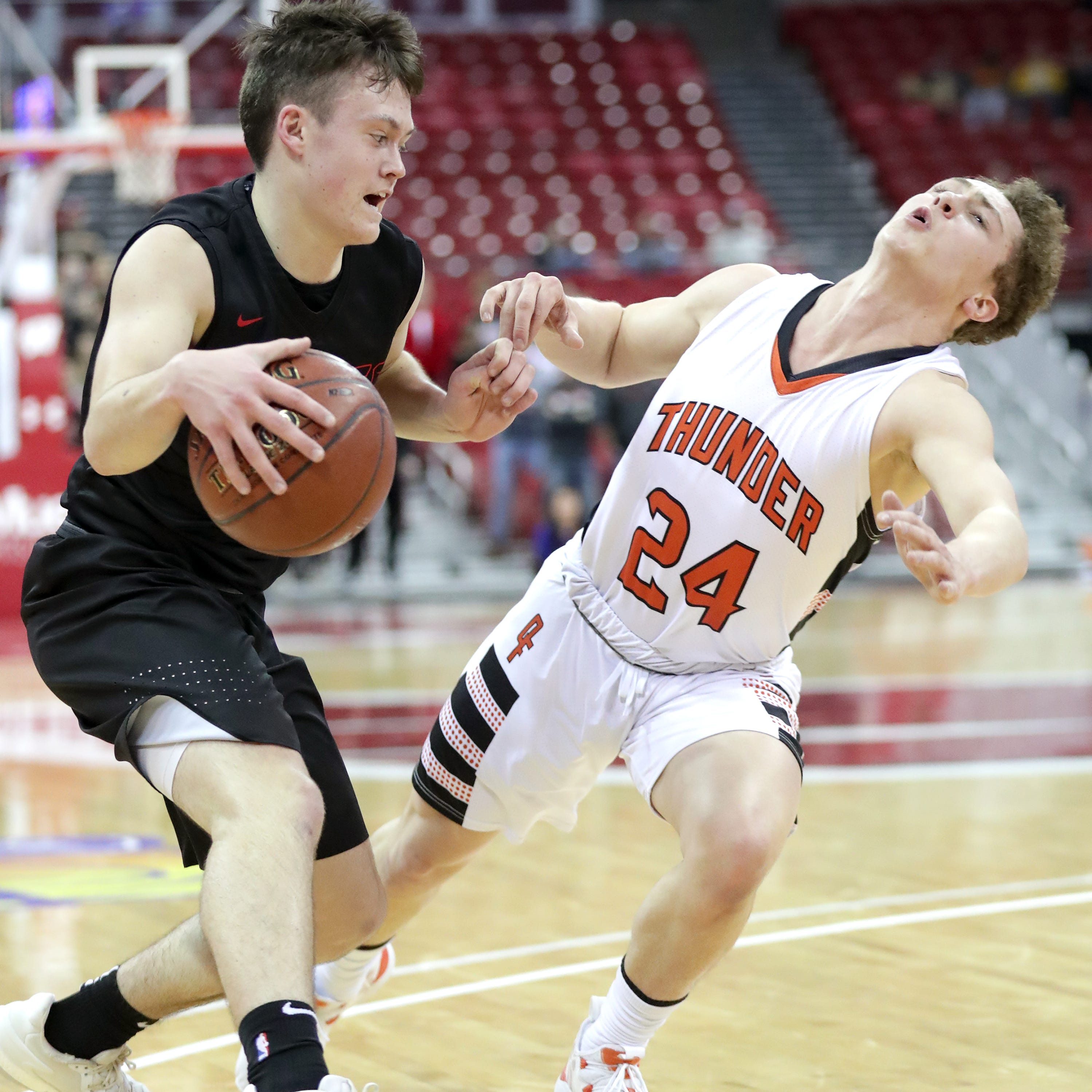 WIAA state basketball: Late bucket lifts Lourdes Academy past Osseo-Fairchild in semifinal