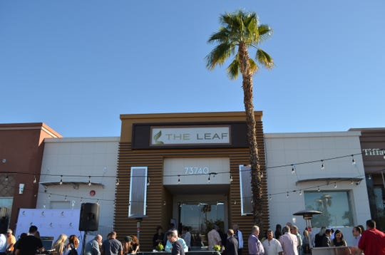 The Leaf grand opening party on El Paseo